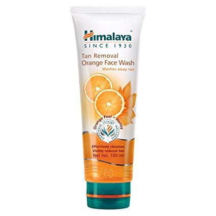 Himalaya Tan Removal Orange Face Wash - DATE T03/2022