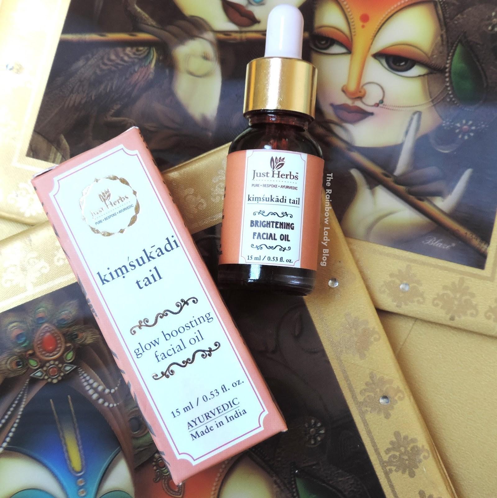Cách  massage mặt khi dùng Kimsukadi Tail Just Herbs