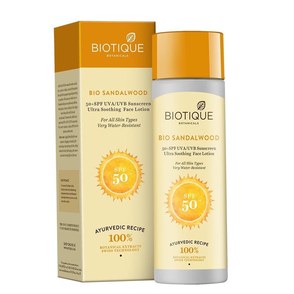 Kem chống nắng Bio Sandalwood Spf 50+ cho da khô 190ml - DATE T3/2022