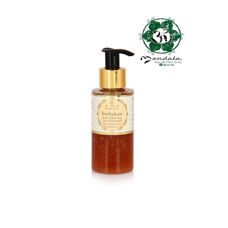 Tẩy da chết Just Herbs lively clean honey exfoliate